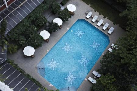 Swimming pool [outdoor] Taj MG Road Bengaluru