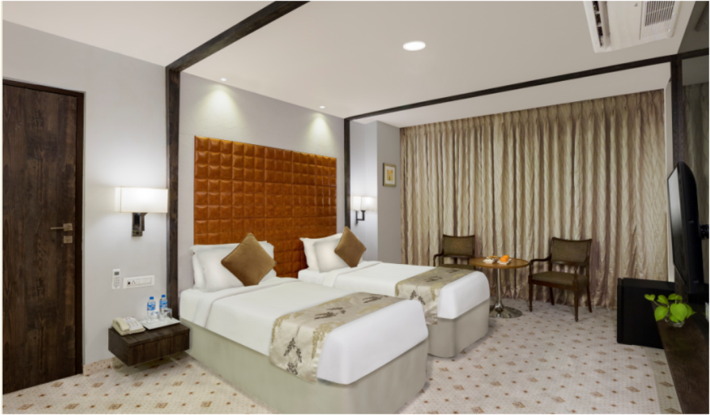 Standard - 床型 那格浦尔雷根塔中心酒店及会议中心 (Regenta Central Hotel & Convention Centre Nagpur)