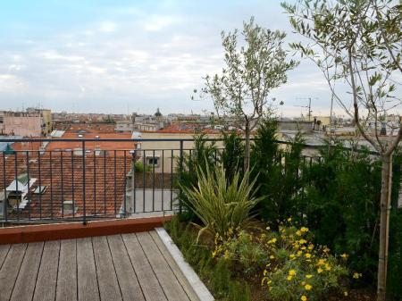 Balcony/terrace Hotel Monsigny