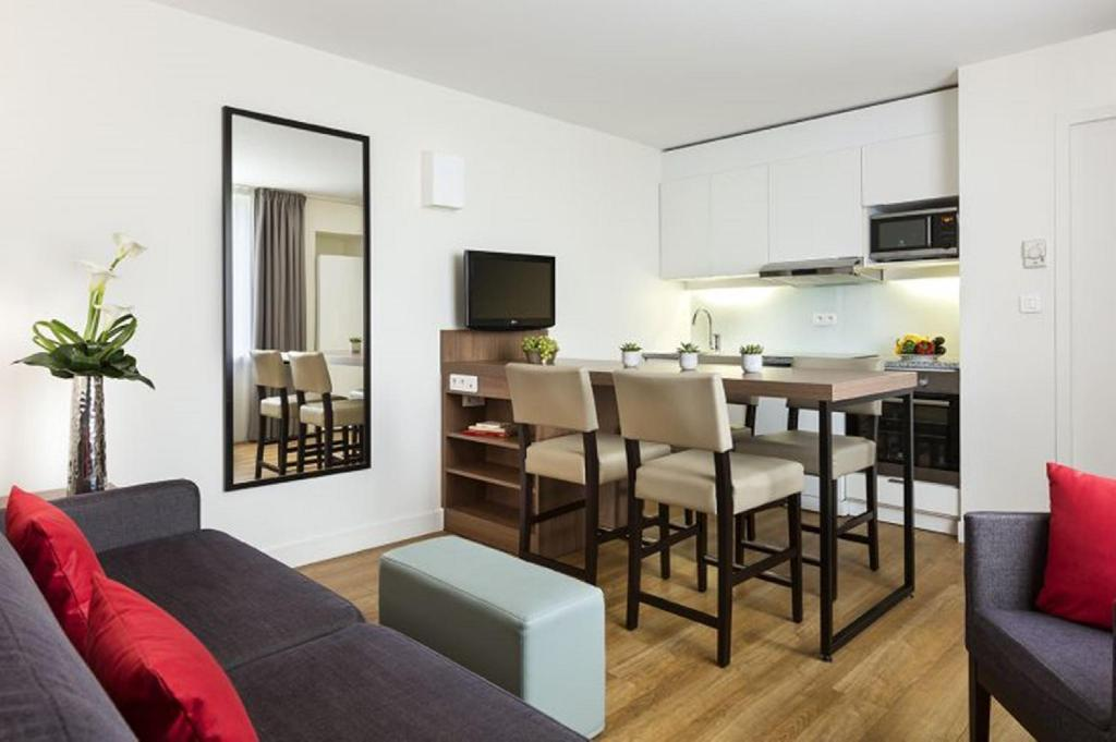 Hotellet indefra Citadines Place d'Italie Paris