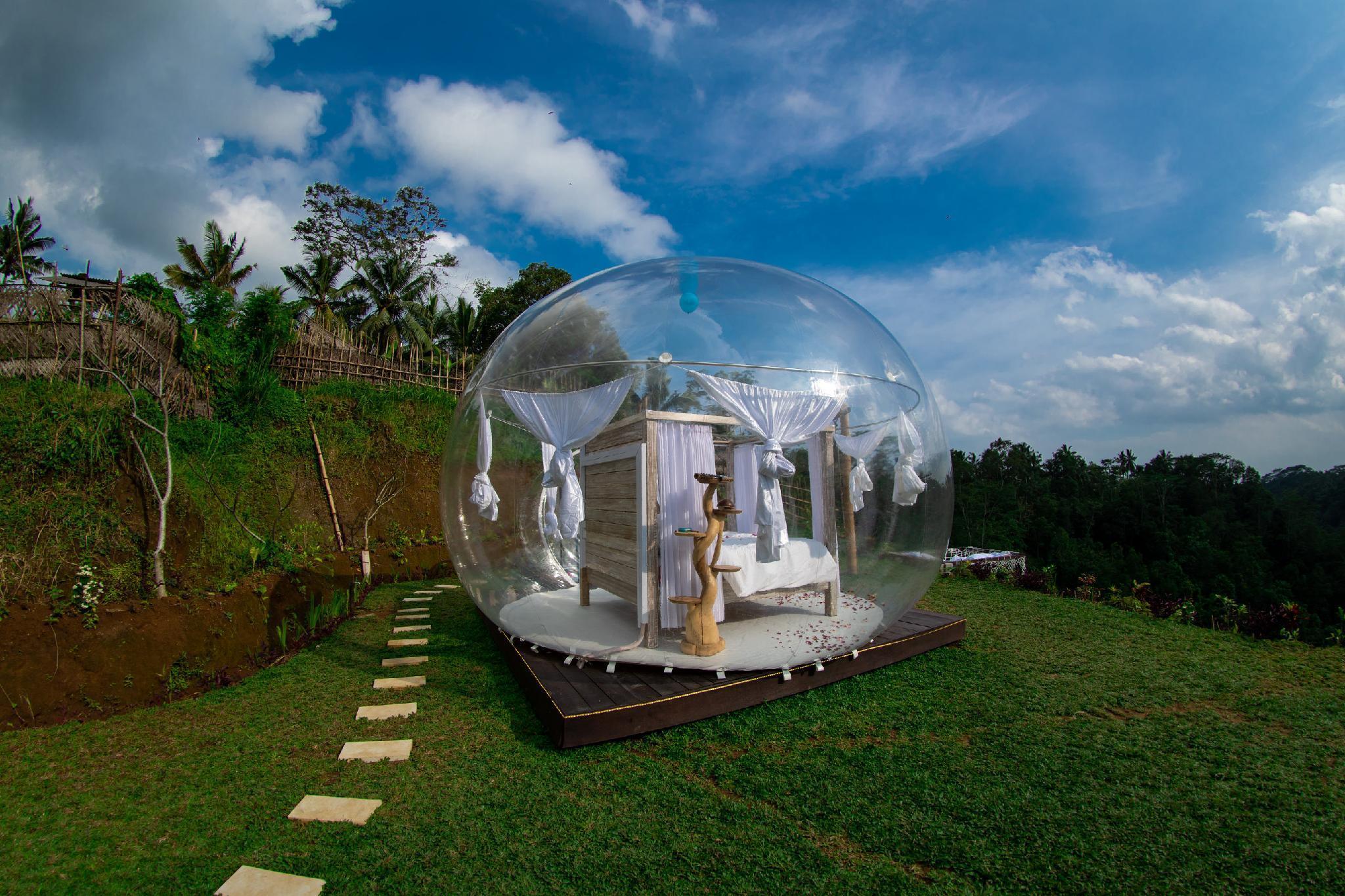 Romantic Bubble Dome Ubud In Bali Room Deals Photos Reviews