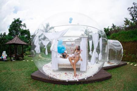 Romantic Bubble Dome Ubud