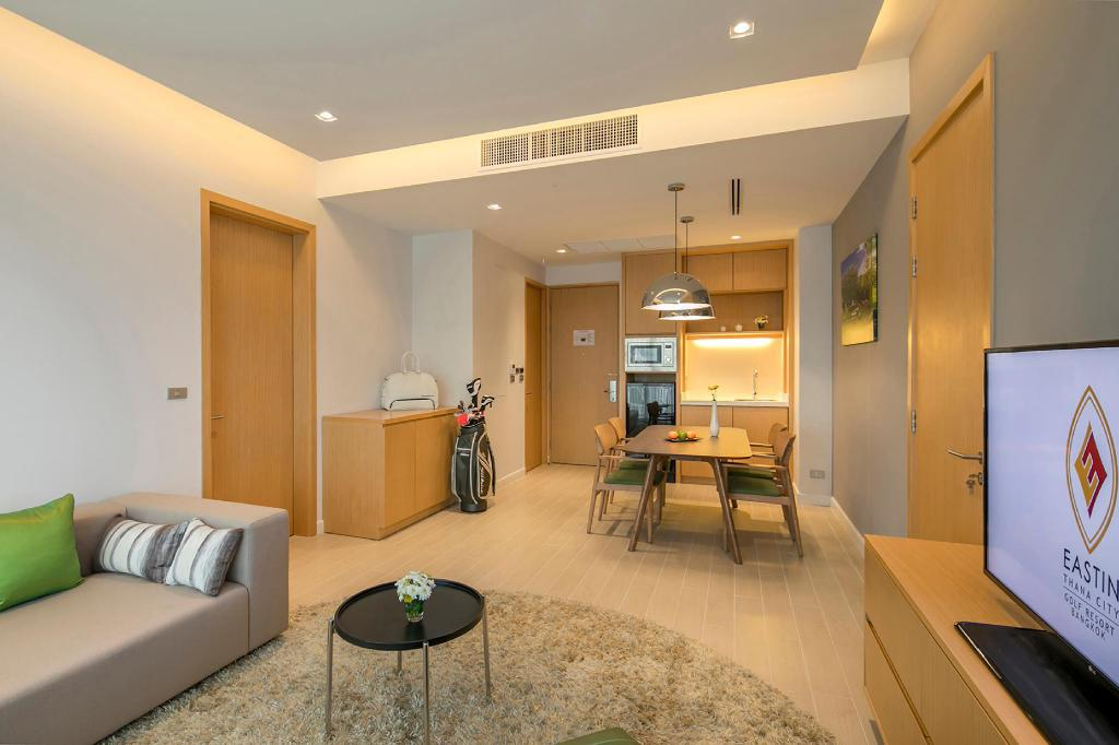 Two Bedroom Suite Eastin Thana City Golf Resort Bangkok