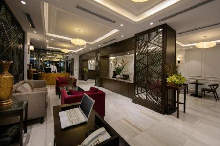 Lobby Quoc Hoa Premier Hotel and Spa