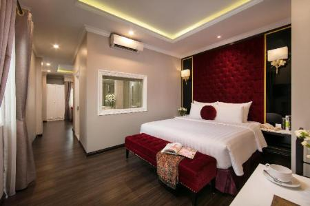 Suite Executive - Camera da letto Hanoi L'Heritage Centre Hotel