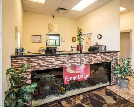 Empfangshalle Econo Lodge Kissimmee