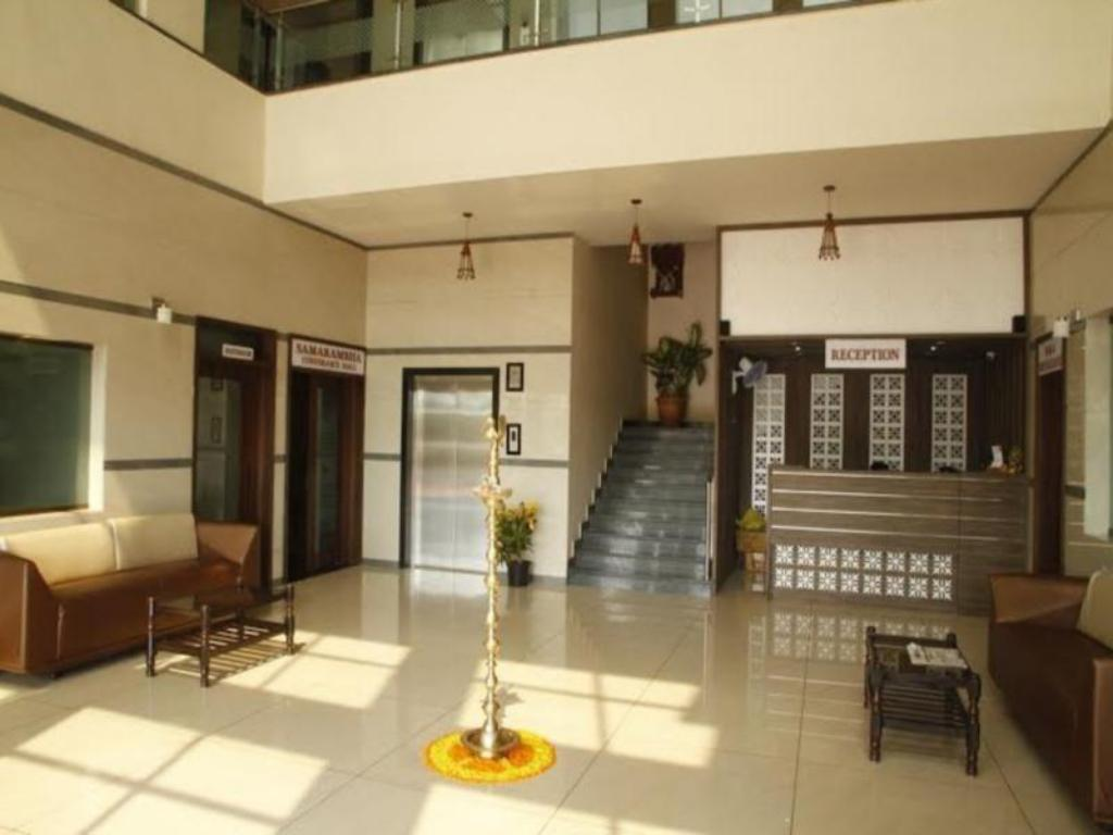 Interior view Hotel Sangam Regency