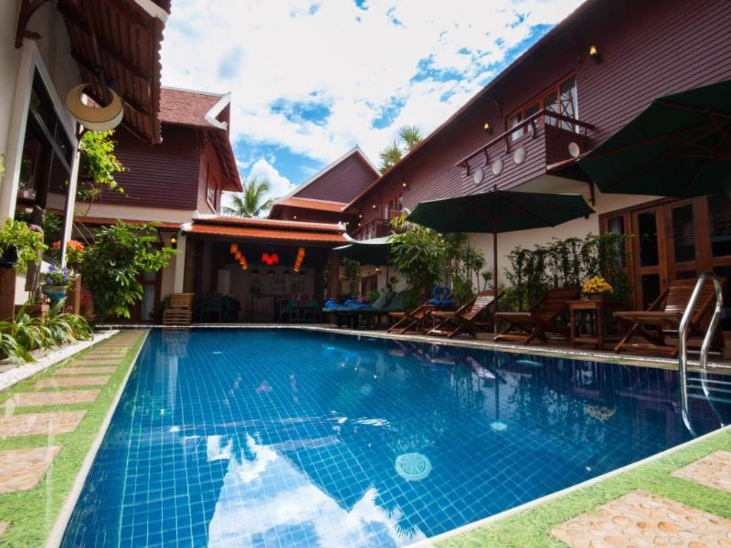 Swimming pool Bamboo Forest Boutique Villa