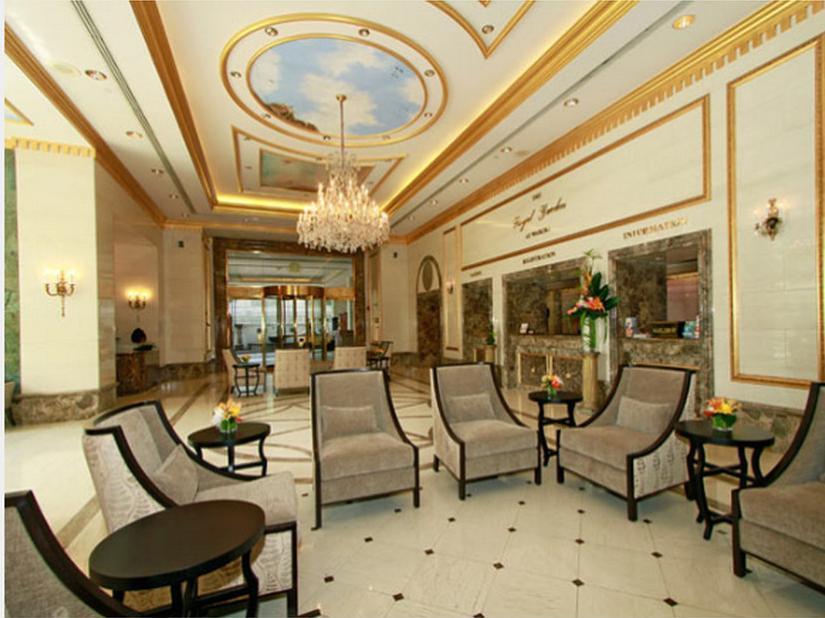 Lobby Wyndham Vacation Resorts Royal Garden At Waikiki