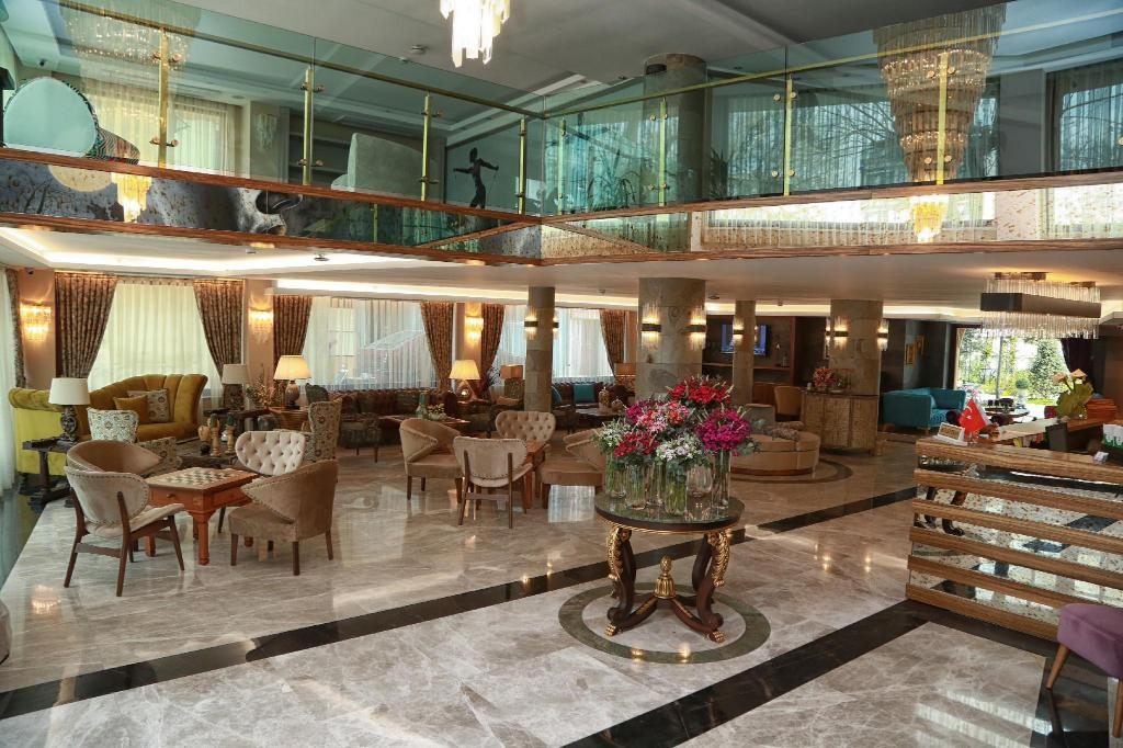 Reception Tuzla Garden Hotel & Suites