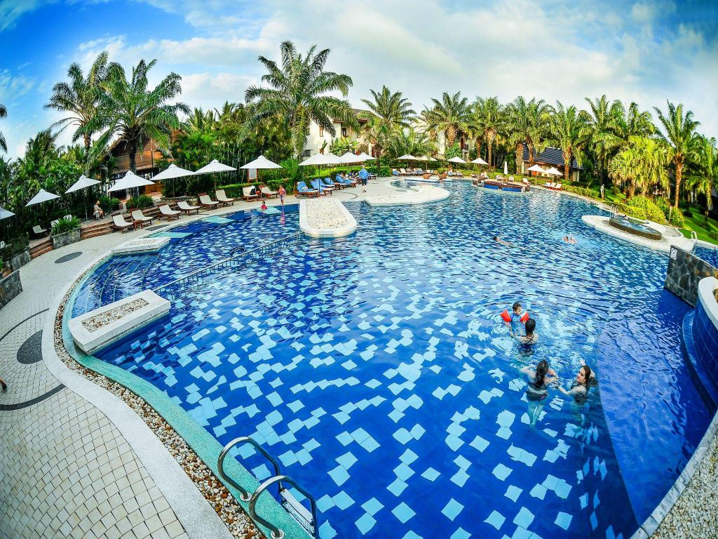 Zwembad Palm Garden Beach Resort & Spa