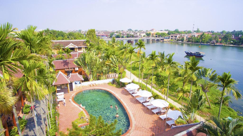 Aerial view Pho Hoi Riverside Resort