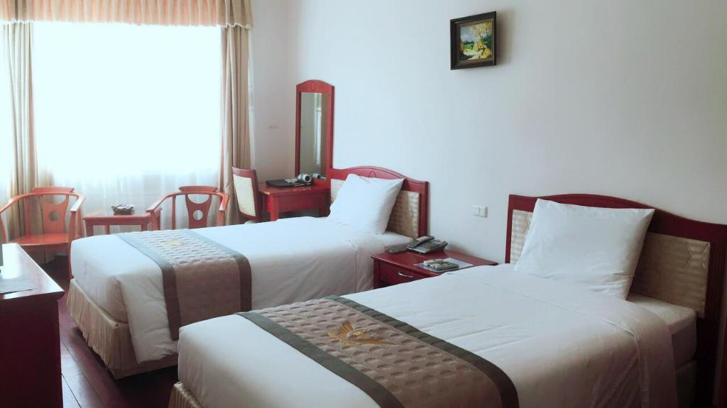 Standard Double or Twin Room - Bedroom Draco QK3 Hotel
