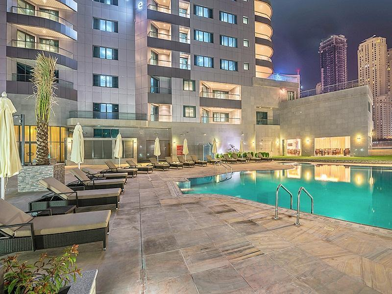 Swimming Pool City Premiere Marina Hotel Apartments. Swimming Pool
