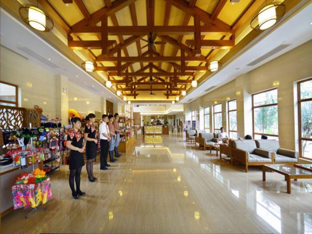 Lobby Zhongshan Hot Spring Resort