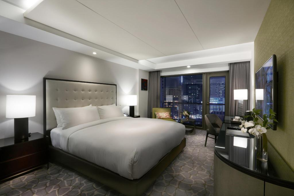 Main Building Executive City View Room - 客房 釜山天堂娛樂場酒店 (Paradise Hotel and Casino Busan)
