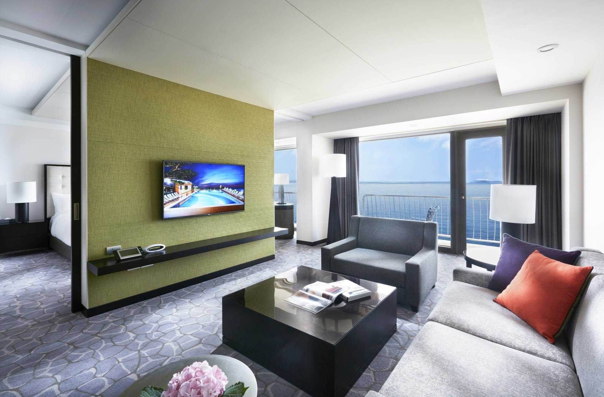 海景小型套房 (Junior Suite Sea View)