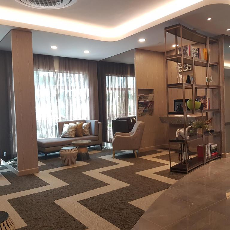 Лобби Somerset Ho Chi Minh City Serviced Residence