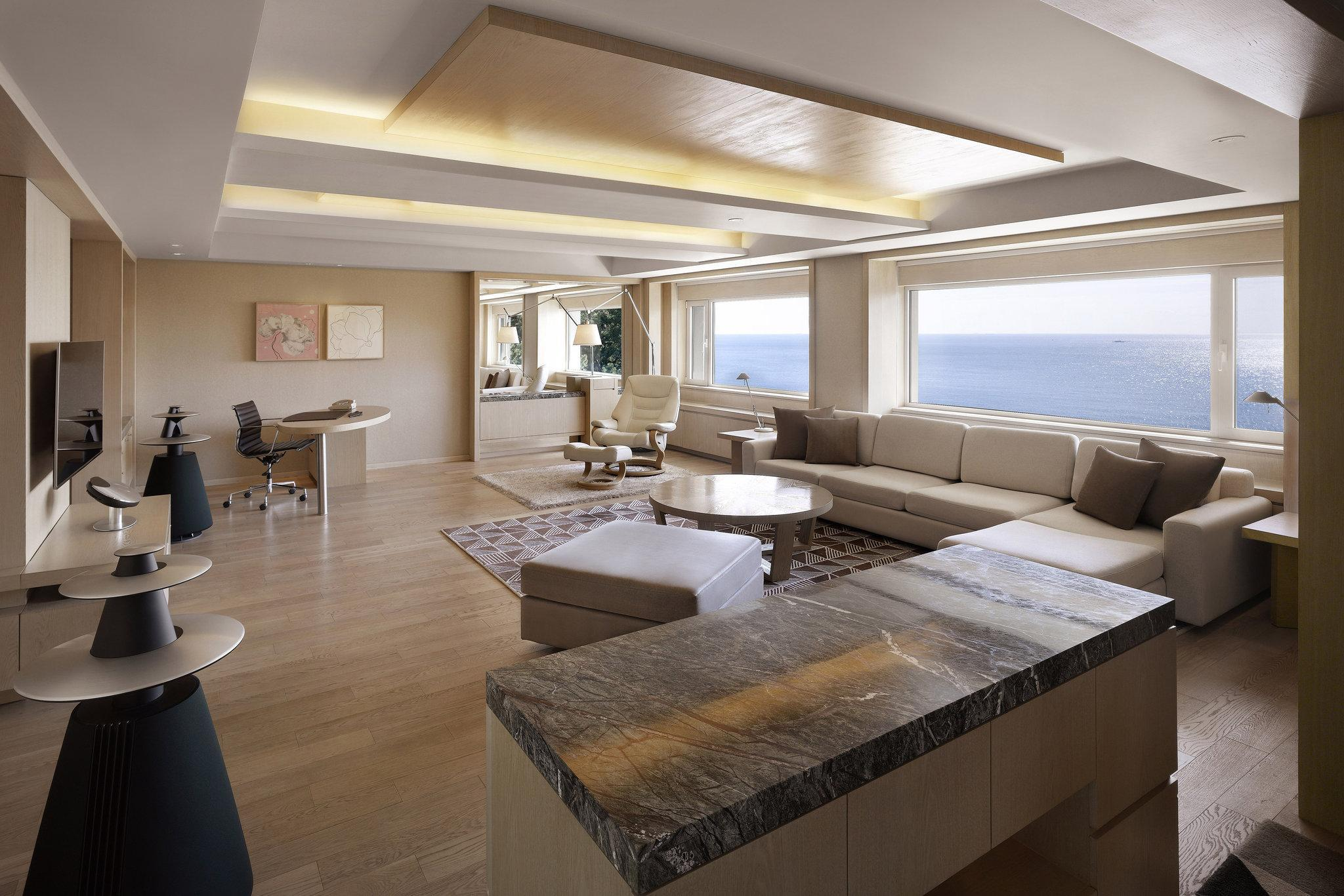 Presidetail Suite, Executive level, Beach view, Corner room