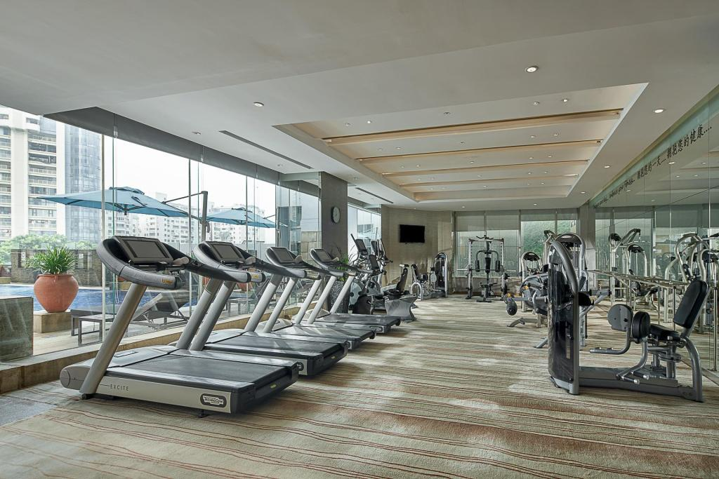 Fitness center Pan Pacific Xiamen Hotel