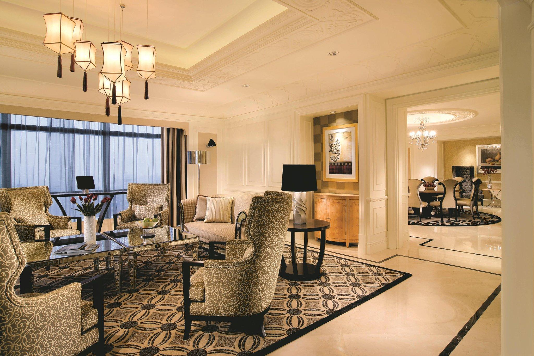 Suite Presidencial com 1 quarto, no piso Club (Presidential Suite, Club level, 1 Bedroom Presidential Suite)