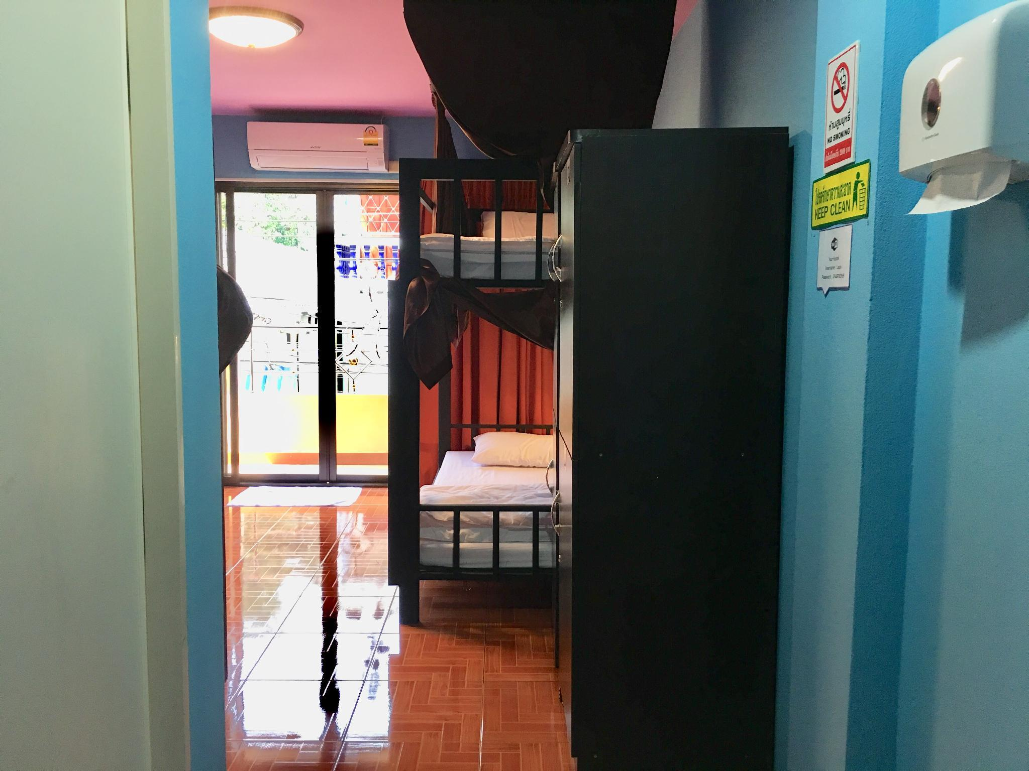1 Person in 6-Bed Dormitory with Private Bathroom - Female Only