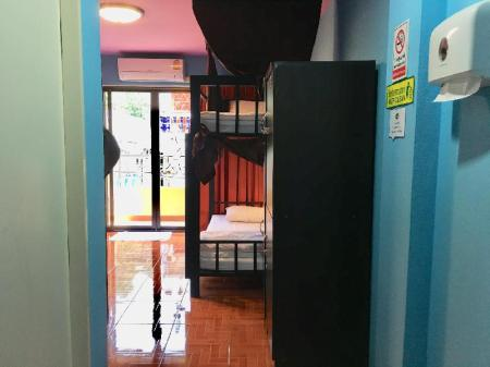 1 Person in 6-Bed Dormitory with Private Bathroom - Female Only - Bed Your Hostel at Chiang Mai