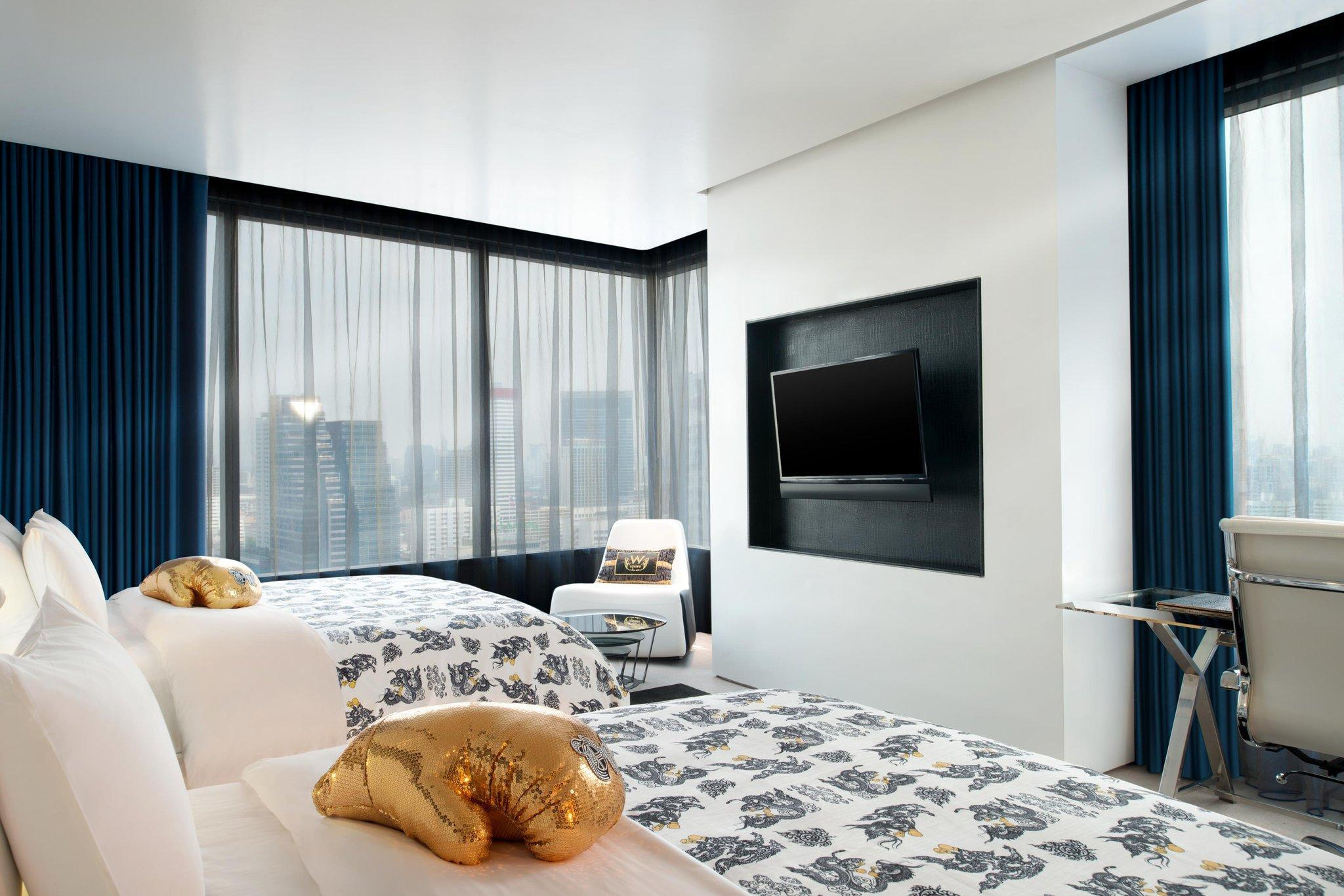 Cool Corner, Guest room, 2 Queen, City view, Corner room