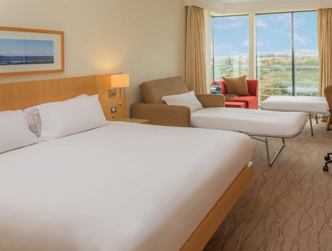 Family Hilton Guestroom