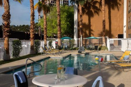 Swimming pool [outdoor] Fairfield Inn Las Vegas Convention Center