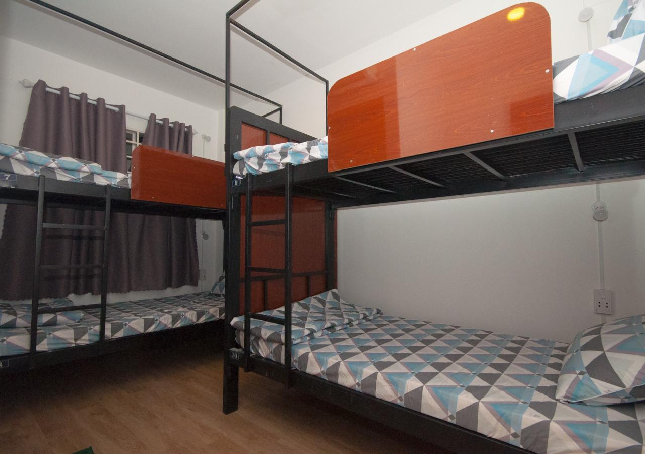 1 Kişilik 4 Yataklı Yatakhanede – Karma (1 Person in 4-Bed Dormitory - Mixed)