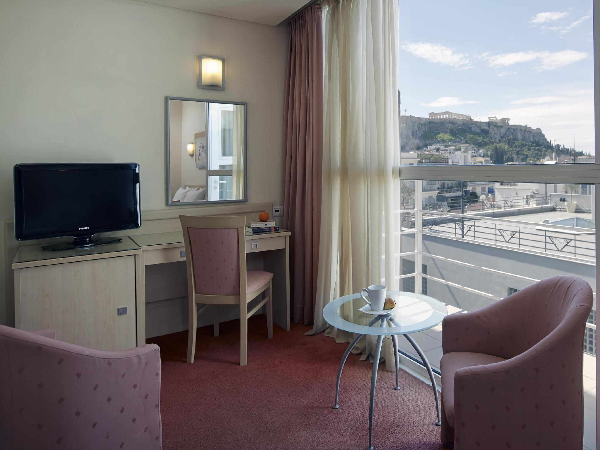 Double Room with Acropolis View