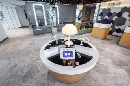 Lobby YOTELAIR Singapore Changi Airport at Jewel