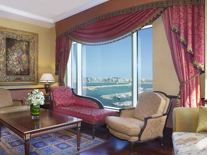 Presidential suite, Club lounge access, Oceanfront, Balcony