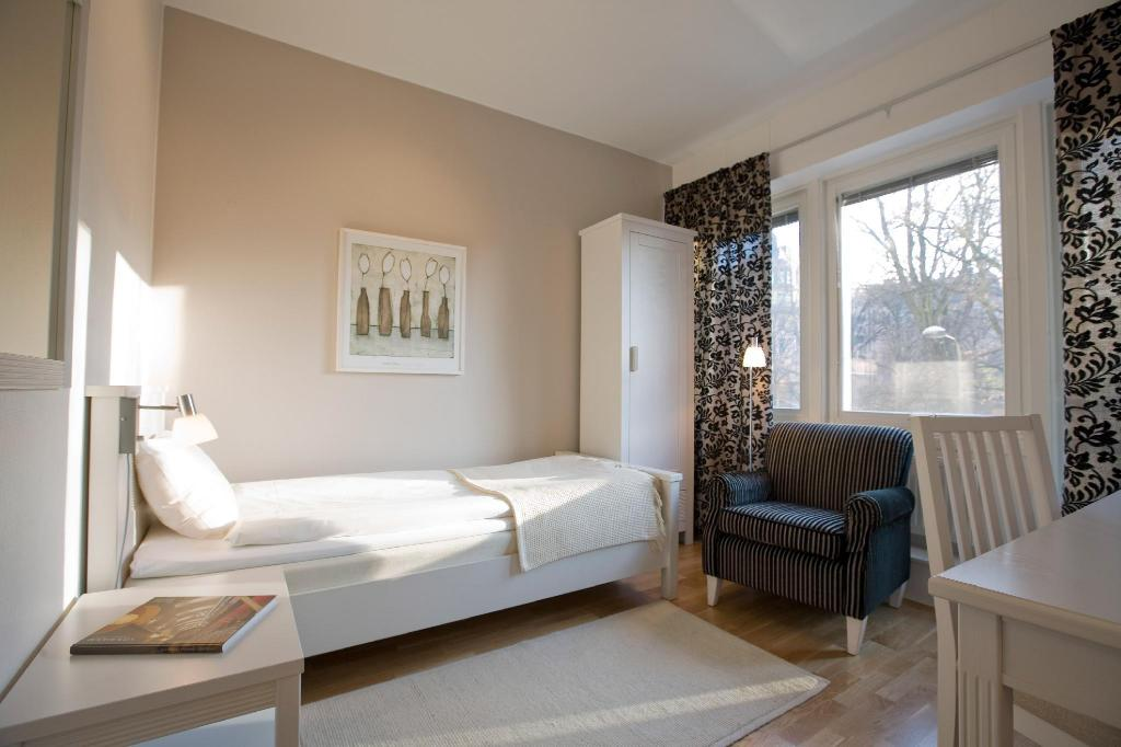 Single - Guestroom Hotel Tegnerlunden
