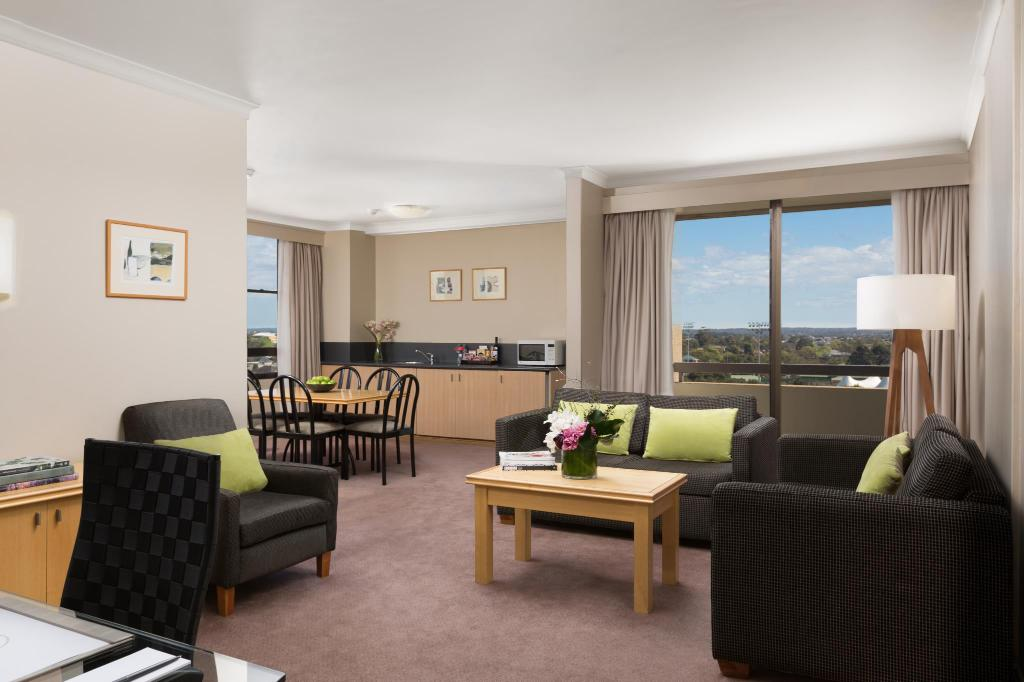 One Bedroom Suite - Aerial view Rydges North Sydney Hotel