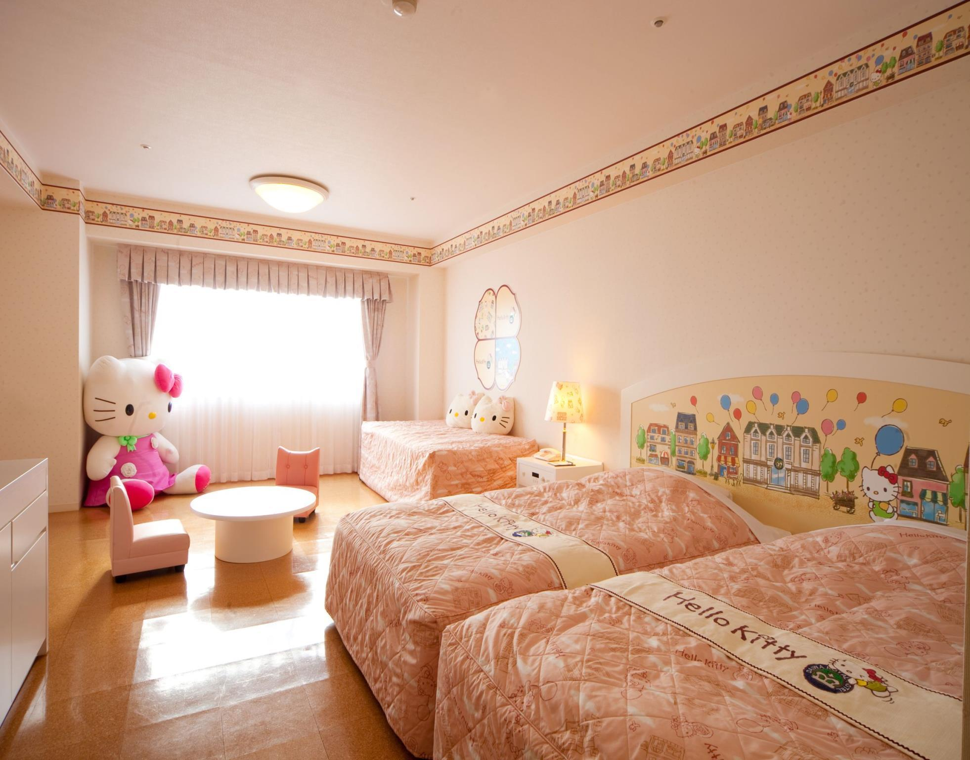 Hello Kitty Room with Twin Bed - Non-Smoking