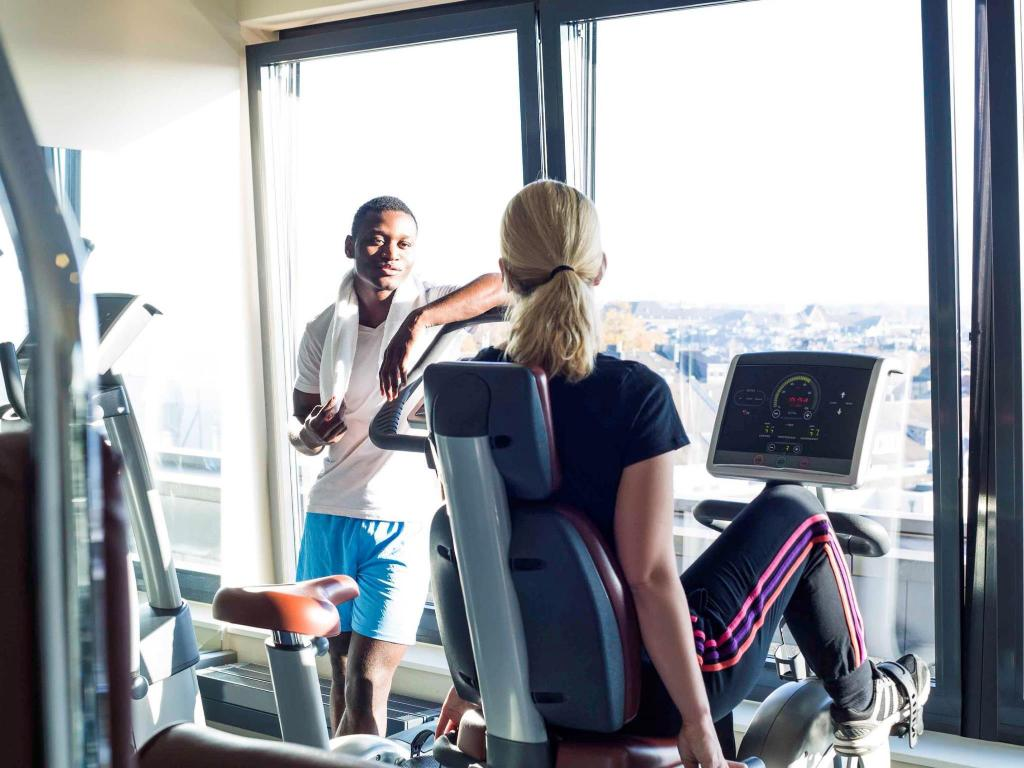 Fitness center Novotel Aachen City Hotel