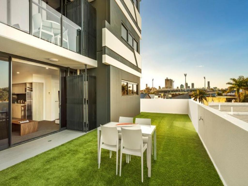 Balcony/terrace Quest Woolloongabba Apartments