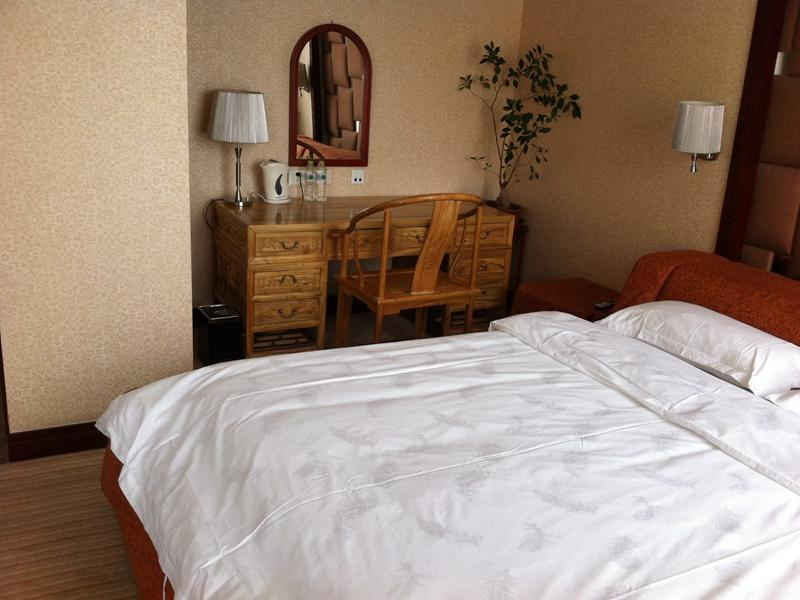 Deluxe Business Zimmer mit Doppelbett (Deluxe Business Queen Room)
