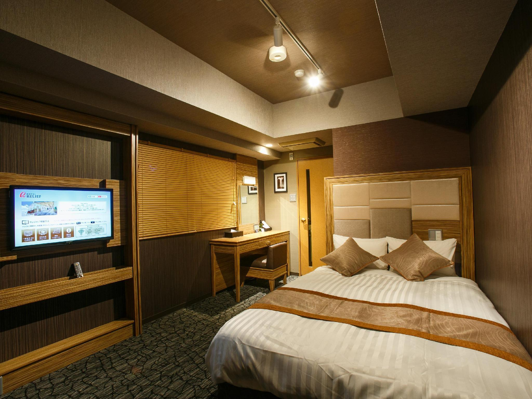 hotel relief namba daikokucho in osaka room deals. Black Bedroom Furniture Sets. Home Design Ideas