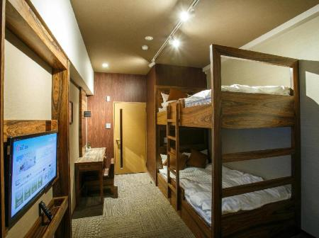 Bunk Bed - 2 people Hotel Relief Namba Daikokucho