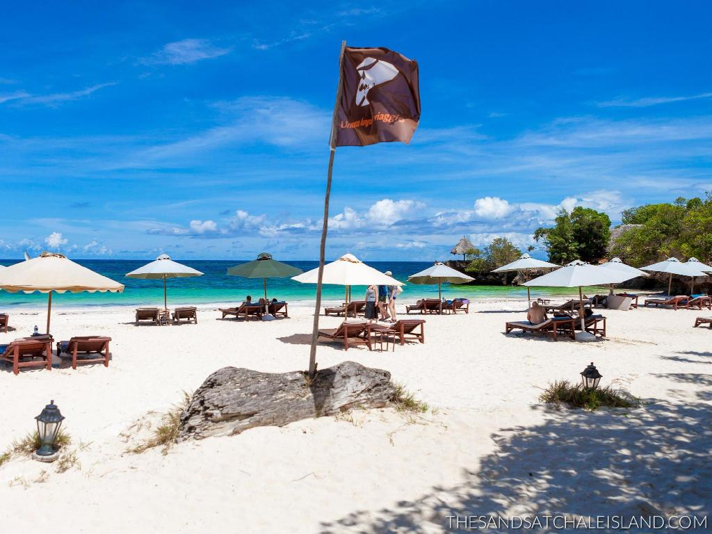 platja The Sands at Chale Island Hotel