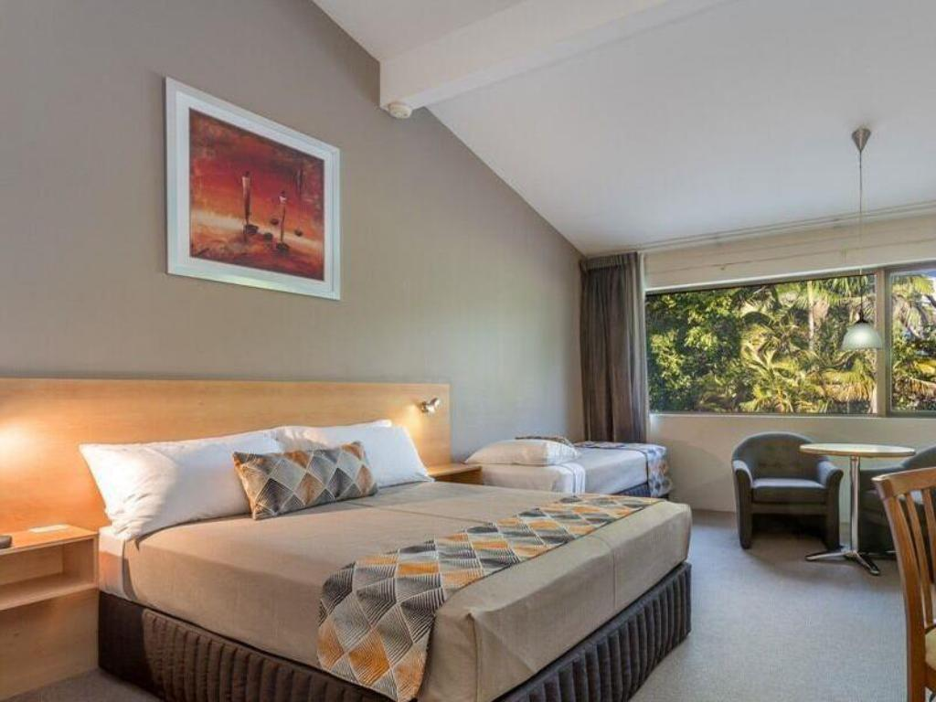 Classic Twin Room - Guestroom Airport International Motel Brisbane