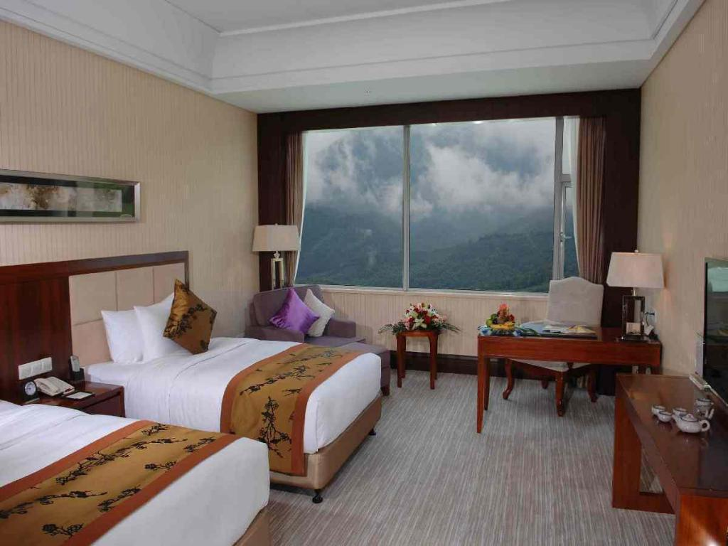 Standard Twin Mountain View Jiarun Gloria Grand Hotel Jiuhuashan