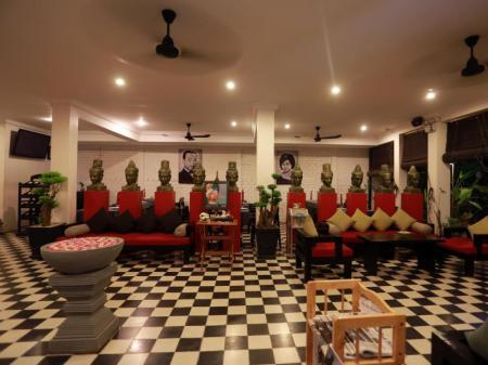 Lobby Khmer Mansion Boutique Hotel