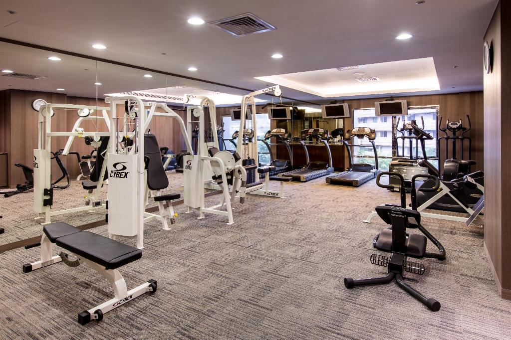 gym Grand Forward Hotel