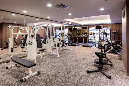Fitness center Grand Forward Hotel