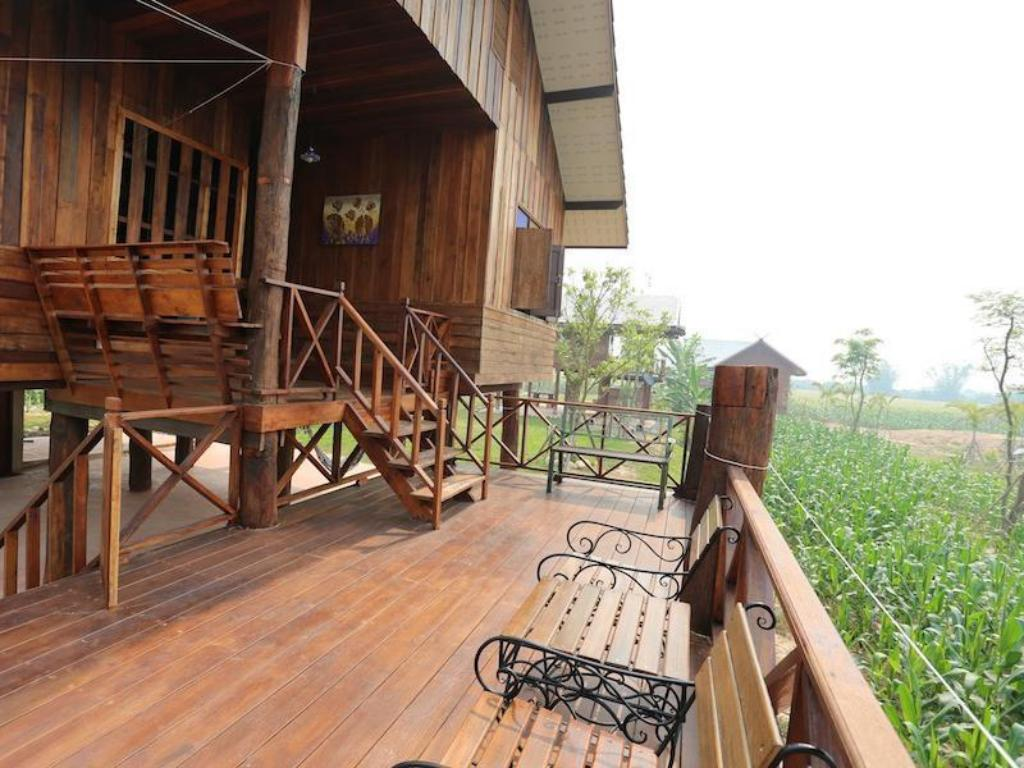 Balcony/terrace Chiang Dao Privacy Resort