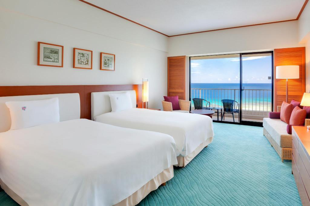Ocean Front with Extra Bed Hotel Nikko Guam